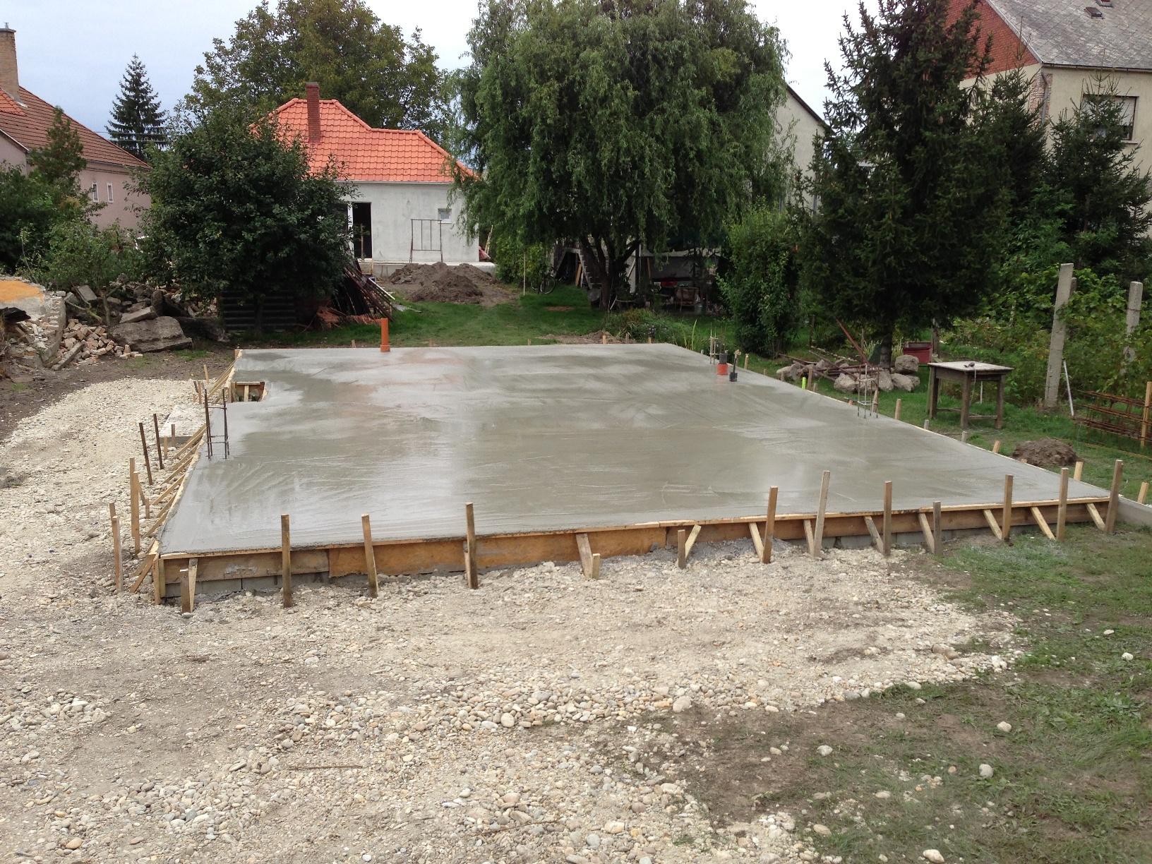 Ház alapja