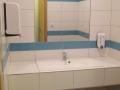 beépített mosdókagyló