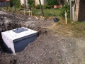 Szivattyú akna , kisház alapppal  (1)